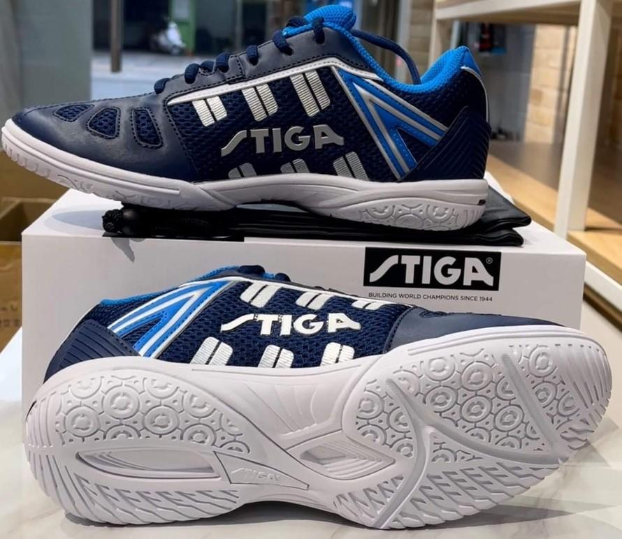 Giày bóng bàn Stiga 2021 màu xanh