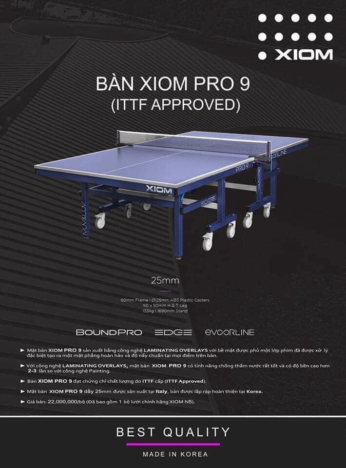Bàn Xiom Pro 9
