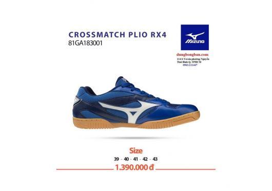 Giày mizuno crossmatch plio rx4 xanh