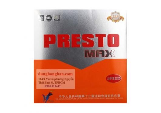 Friendship 729 presto max speed