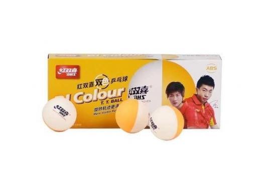 Banh bóng bàn 2 màu